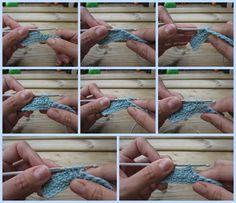 Curso de ganchillo para zurdos / www.elenarte.es