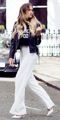 Black And White Street Chic | That Pommie Girl