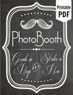 Imprimibles: ¡Personaliza tu boda con pizarras!