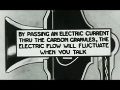 "How Telephones Work: ""How the Telephone Talks"" 1920 Bray Studios, Animated: http://youtu.be/LMuwIBez-kM #history #telephone #technology"