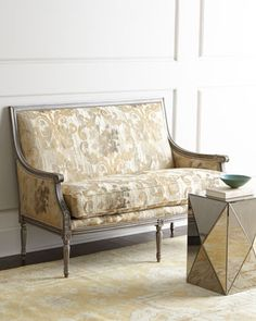 Darrington Settee By Massoud At Horchow.