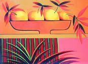 cuadros de flores y frutas modernos