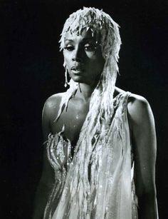 Feather Fabulous Diahann Carroll.