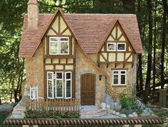Spinner's End Miniature House by BellaStudioMinis on Etsy, $3500.00
