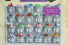 (9) Name: 'Sewing : Gingerbread House Advent Calendar PDF