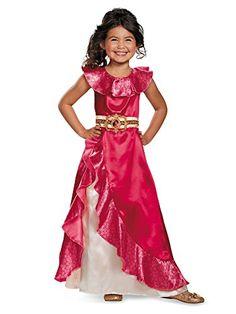 90ffbc74b Elena Adventure Dress Classic Elena Of Avalor Disney Costume, Small/4-6X  Best