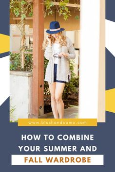 I don't know about you but I'm never ready to let go of my summer wardrobe when the weather turns cools. So I decided not to choose! Here's my step by step guide on how to combine your summer and fall wardrobe! These tips will help you transition your wardrobe the best way possible! #summertofall #stepbystep #transitionwardrobe