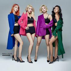Moonbyul, solar, hwasa y wheein Kpop Girl Groups, Korean Girl Groups, Kpop Girls, Shinee, Meme Photo, Rapper, Mamamoo Moonbyul, Reality Shows, Solar Mamamoo
