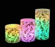 LED Wax Paraffin Candles for Christmas Decoration at Cheap Prices on Winpromote.com