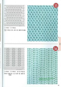 Tunisian Crochet pattern.