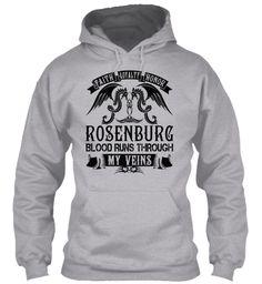 ROSENBURG - My Veins Name Shirts #Rosenburg