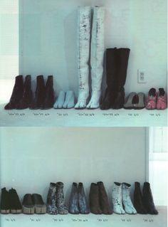 Margiela tabi shoes
