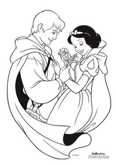 Snow White and the Seven Dwarfs coloring pages. Disney coloring pages. Coloring pages for kids. Thousands of free printable coloring pages for kids! Disney Princess Coloring Pages, Disney Princess Colors, Disney Princess Snow White, Snow White Disney, Disney Colors, Snow White Coloring Pages, Love Coloring Pages, Cartoon Coloring Pages, Printable Coloring Pages