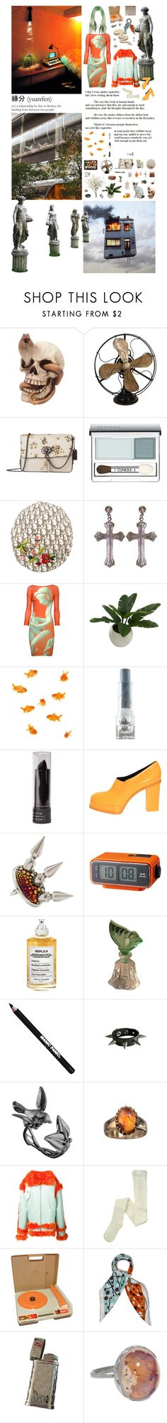 """My strange memories: you can fly to Japan in all the realities, but you will never forget the smell of my cigarettes by your fireplace"" by nothingisnormal ❤ liked on Polyvore featuring Louis Vuitton, INC International Concepts, Coach, Clinique, Christian Dior, Yves Saint Laurent, Just Cavalli, Threshold, Forever 21 and Anna Sui"