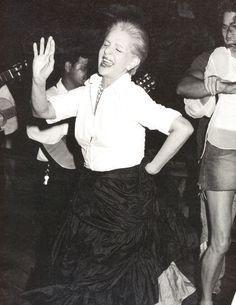 Carolina Herrera dancing Venezuelan Folklore  http://markdsikes.com/2012/10/31/classic-carolina/