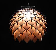 Spore Lamp - Laser Cut Pendant Lamp Lighting by TerraformDesigns on Etsy https://www.etsy.com/listing/254138520/spore-lamp-laser-cut-pendant-lamp