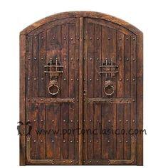 puertas de madera con forja - Buscar con Google
