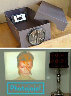 Build a DIY Photo Projector for $1