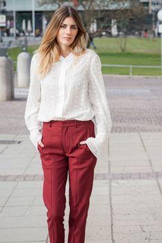Ready to wear #chloé #blouse #isabelmarant #pants #womenslook #streetstyle #ootd