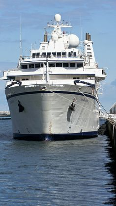 Le Diamant is a small cruise ship operated by Compagnie du Ponant, of France