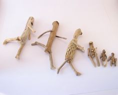 ∷ Variations on a Theme ∷ Collection of driftwood figures - Oliveark