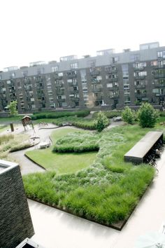 ♂ Beautiful green landscaping - project Charlotte Garden by SLA / Stig L. Andersson