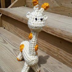 Amigurumi Giraffe by BeccaTheCraftmeister on Etsy