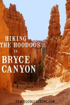 The Best Hikes in Bryce Canyon National Park in Utah. Bryce Canyon trails include the Queen's Garden and the Navajo Loop Trails. This complete guide to the Best Bryce Canyon hiking trails is all you need to hike the hoodoos. Usa Roadtrip, Travel Usa, Bryce National Park, Us National Parks, Death Valley, Bryce Canyon Hikes, Utah Hikes, Canyon Utah, Empire State Building