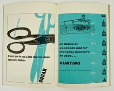 Four Bold Type Specimens by Herb Lubalin Study Center, via Flickr
