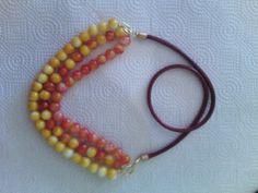 Bello collar de perlas, hecho a mano por mi erika lopez