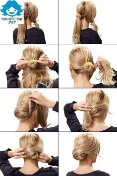 Estliche Frisuren Der Dutt Und wir sind mehr perfekt mit einem großen bun Frisur. Für eine Frisur, die Sie horchen müssen in kurzer Zeit wunderbar und perfekt aussehen und einfach selber machen die…
