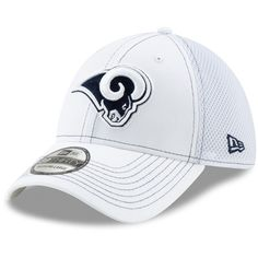 the latest 4a933 5b5f3 Men s Los Angeles Rams New Era White Team Neo 39THIRTY Flex Hat, Your  Price   25.99