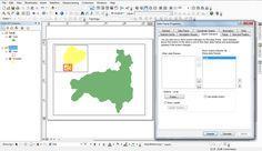 Crear un mapa de localización en ArcGIS.