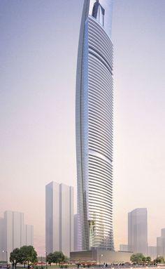 DAMAC Heights | Aedas | Architecture | Residential | Dubai, UAE
