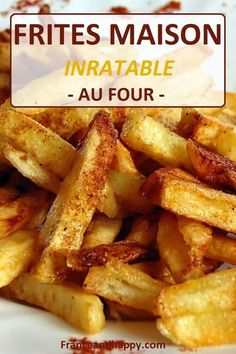 Paleo - Frites maison super rapide, healthy et tellement bonne ! - It's The Best Selling Book For Getting Started With Paleo Potato Dishes, Potato Recipes, Paleo Recipes, Food Dishes, Cooking Recipes, Side Dishes, Seasoned French Fries Recipe, Seasoned Fries, Super Dieta