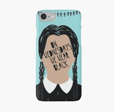 This charming phone case. | 21 Essential Items For People Who Are Basically Wednesday Addams