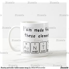 Eugene periodic table name mug periodic table aunty periodic table name mug urtaz Choice Image
