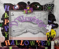 Cuadros para fotos de halloween 82