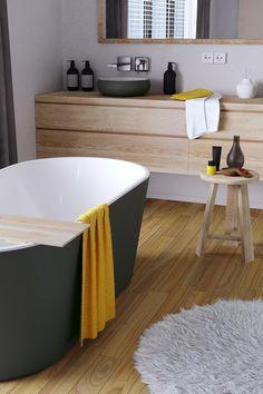 Architecture Design, Sweet Home, Bathtub, House Design, Inspirer, Bathroom, Bathroom Furniture, Shelving Brackets, Kitchen Design