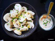 Une recette toute simple aujourd'hui, mais qui n'en est pas moins délicieuse : pensez-vous à manger les champignons de Paris crus ?