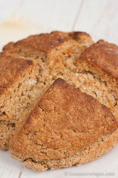 Brown Irish Soda Bread (ATK version)