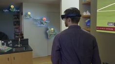 Microsoft HoloLens UI by Navarro Parker at MPC
