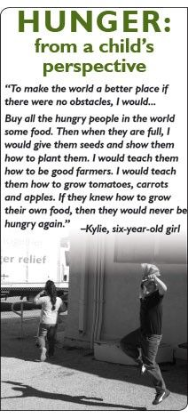HUNGER: From a child's perspective