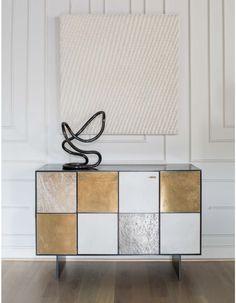 GOLD SIDEBAORD | Luxury design sideboar fr a modern living room | http://bocadolobo.com/ #modernsideboard #sideboardideas