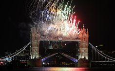 London 2012 Olympics: Fireworks -