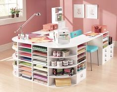 Turn it inside out with shelves & drawers on inside.