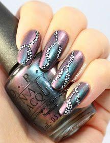 Peace love and OPI free hand nail art