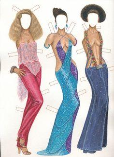 [] IMAN models BERTA 70's fashion
