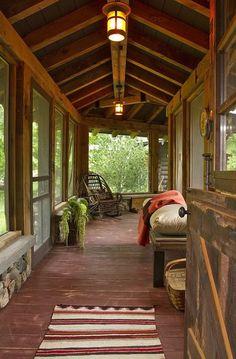 Nice enclosed porch.
