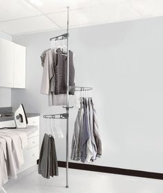 Tension-Mounted Drying Pole|ABC Distributing